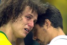 David Luiz / Curly Haired Brazil Soccer Star!