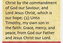 1st Epistle to Timothy