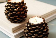 Pine Cone crafts and decorations