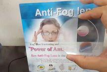 antifog lens / antifog lens