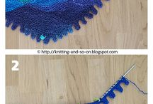 Pletené šatky