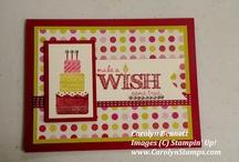 Stampin up make a wish