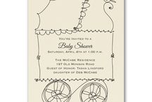 Baby Shower Invitations / Planning that special event for a mommy-to-be. Here are some great invitations to help you get started! Visit www.yourethebride.carlsoncraft.com for deals on baby shower invitations and announcements up to 35% off!  For help planning your perfect event contact tracie@yourethebride.com or call 248-408-4602