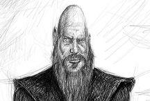 Ragnar caricature