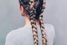 Hair / Easy hair styles ideas and inspiration for cuts, colors and accessories I love .