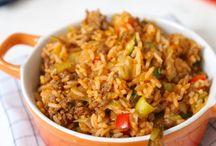 rijsttafel met gehakt