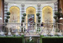 """Il Giardino Ritrovato / In occasione del #FuoriSalone, dall'8 al 13 Aprile nel fantastico Château Monfort - Hotel in Milan, abbiamo ricreato il """"Giardino Ritrovato"""", nel lounge Mezzanotte dell'Hotel che una volta era appunto un giardino... I #Profumi della linea """"Pozioni dell'Anima"""" di Anna Paghera - Green, Fragrances, &More, hanno riportato anche olfattivamente i sentori di questo giardino incantato."""