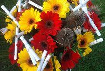 Vtipné kytice / cigaretové, klobásové...