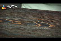 Окраска древесины