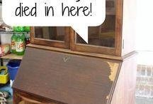 Tips til rep og maling af møbler.