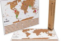 Scratch Off Map / this world scratch off map makes a perfect travel gift for any adventurer or explorer. Scratch off where you've been and plan your next adventure