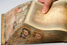 Edge Decoration / Whether gilded or gauffered, painted or marbled, edge decoration had a long tradition in the history of the book.