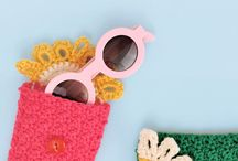 Crochet Glasses Case & Mobile