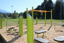 HealthBeat Outdoor Fitness Equipment