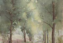 aqua paysages-arbres