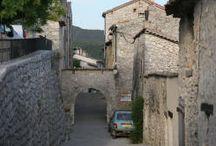 Portes des villes et village de france