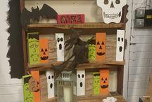 The Wood Pile Halloween