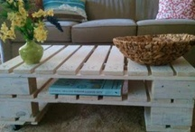 Homemade furniture ideas / by Carli Pilgrim Burt
