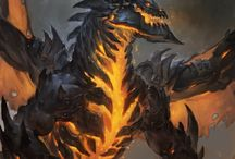 Dragons / The most beautiful creatures in the fantasy world  Dragons Wyverns Wyrm Drake Amphithere
