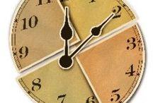 time, clock, hourglas