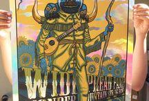 Gig Poster Inspiration / Gig Poster Inspiration all arround the world.