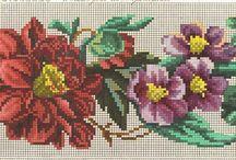 вышивка:Berlin Woolwork