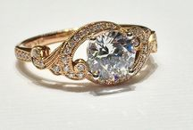 Rose Gold Engagement Rings / These are some amazing engagement ring designs in rose gold at Joe Escobar Diamonds