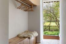 Inspiration - Vorzimmer / Das Vorzimmer ist das Entrée eines Hauses oder einer Wohnung. Deshalb sollte bei der Gestaltung desselben nicht darauf vergessen werden. Auch hier gilt - Form und Funktion unter einen Hut zu bringen.