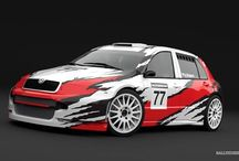 A. Piekarz - hillclimb (Škoda Fabia) / Design and wrap - 2013.