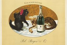 Food & Wine / From Champagne to potted meats, this board is all about vintage posters advertising food & drink.