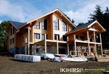 CH3-550 / IKIHIRSI® Maison en Bois