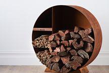 Scandia Wood Storage Range