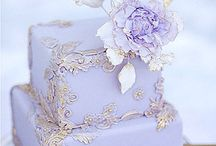 Romantic Whimsical Wedding Cake Inspiration