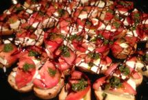 Hors D'oeuvres. / We're a custom caterer and can do most anything. Here's a sampling of Hors D'oeuvres. Some we do often, and others are to inspire you like they do us!