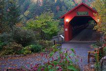 Covered bridges Canada