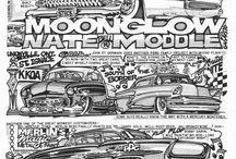 comics cars
