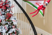 Ideas for Adventurous Scout Elves / Elf on the Shelf ideas for the scout elf who loves adventure and fun, and is always creating amazing new hiding spots to impress their family!