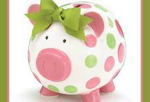 Ceramic Piggy Banks / Ceramic Piggy Banks