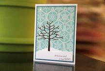 Twiggy tree card Ideas