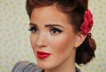 Vintage Hairstyles / Best DIY easy and modern Vintage Hairstyles for long, short and curly hair for inspiration. Find beautiful vintage hairstyles for weddings and with layers. - http://beautifieddesigns.com/vintage-hairstyles/