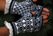 Gloves and Mittens / My wonderful gloves and mittens. Hand made and designed by me!
