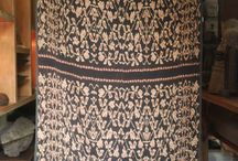 Old ikat from rote island, indonesia / woven fabrics of rote, old