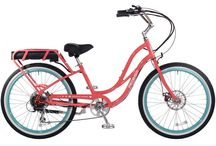 Pedego Step-Thru Comfort Cruiser / The Pedego Comfort Cruiser is America's most beloved electric bicycle — with new improvements that make it even more lovable.Speeds up to 20 mph.