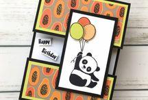 Party Pandas Stampin Up