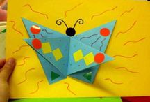 Mariposas   Manualidades InfantilesManualidades Infantiles