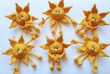 Güneş amigurumi