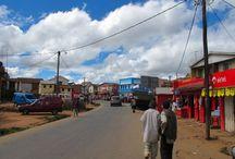 La Route nationale 7 / La route nationale est la route la plus appréciée par les touristes qui font le voyage Madagascar