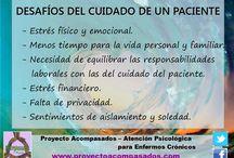 Cuidadores - Enfermedades crónicas - Psicología.