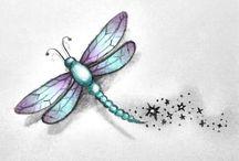 Dragonflies tattoos