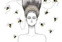 Laura Laine fashion illustration